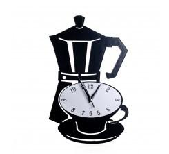 Horloge Mural Decoratif Cafetiere Expresso