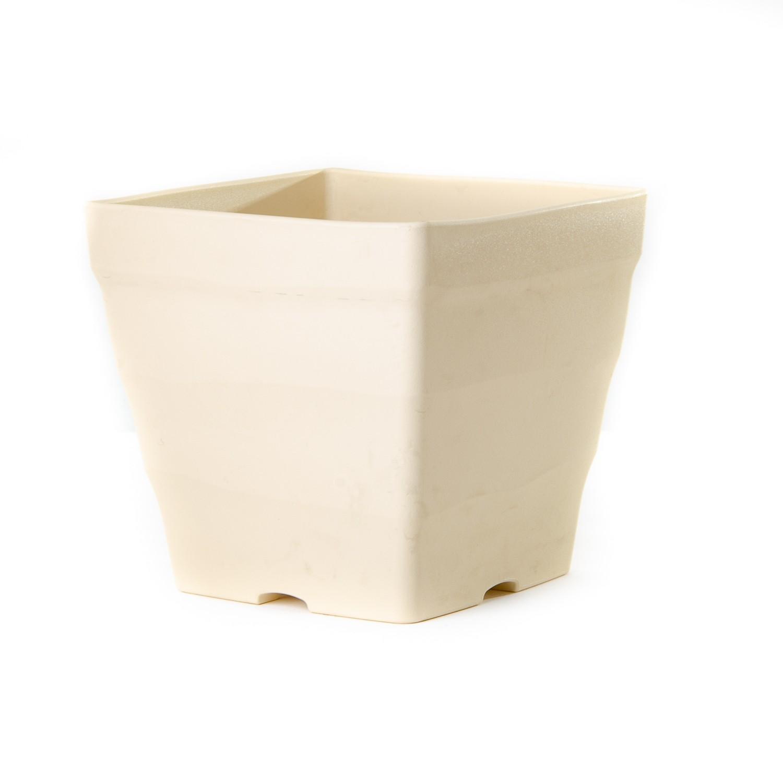 pot de fleur blanc cassé maroc