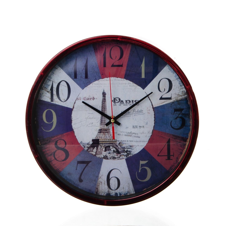 Horloge Murale Ronde Different Motif