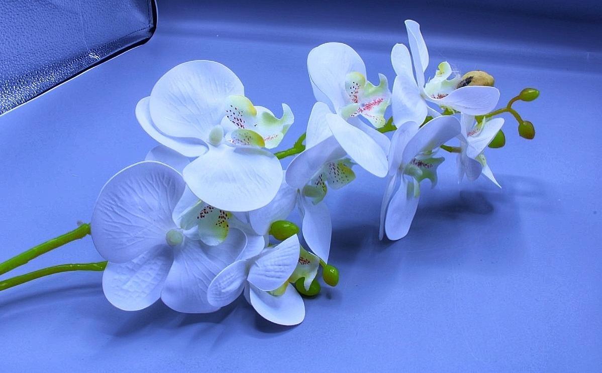 Fleur Artificielle Blanc  0110