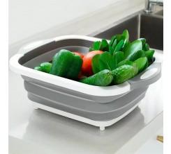 Passoire Pliable en Silicone pour fruits et légumes
