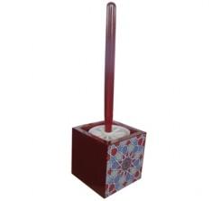 Brosse WC Rouge Motif Sanili