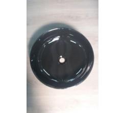 Vasque à Poser Rond 46cm ONE Noir