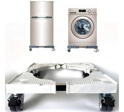 Support d'appoint de machine à laver, , sèche-linge, Cuisinières, réfrigérateurs, congélateurs, avec Roulette BLANC