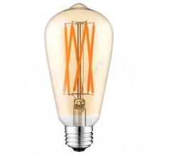 Ampoule lm-e27 st64 4w amber 2200K