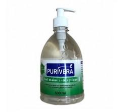 Gel antiseptique 500ml PURIVERA