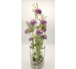 Vase en verre 15cm