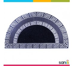 Tapis de porte Demi Cercle Noir