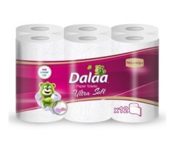 DALAA Papier Toilette 12 Rouleaux