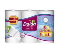 Dalaa Papier Toilette Jumbo 6 Rouleaux