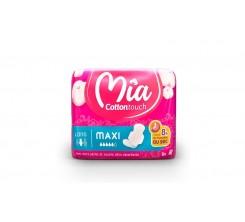 MIA Cotton Touch Serviette Hygiénique Maxi Long. 9 U x 16