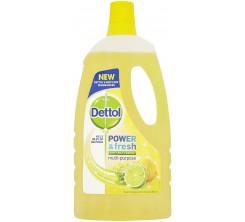 Dettol Power & Fresh Lemon Burst 1L