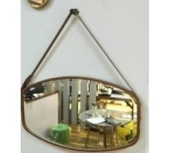 Miroir Ovale Décoratif Suspendu Elche A-8