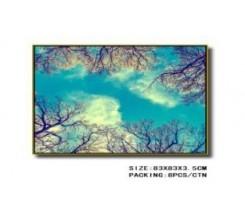 Tableau Decoratif-Branches d Arbres Contre le Ciel