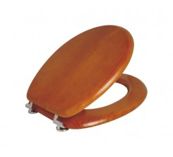 Abattant en bois marron R107