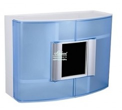 Boite à Pharmacie Bleu Avec Miroir