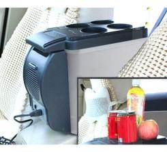 Mini Réfrigérateur Portable Dessus De Table Idéal pour Voiture