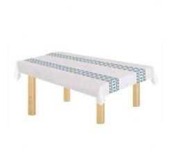 10 Pcs Nappe de Table Jetable en Plastique (100x130)