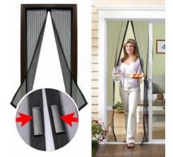Rideaux de porte moustiquaire multicouleur  50x210cm