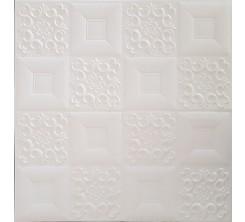 Papier Peint Auto  Adhesif 3D Gris
