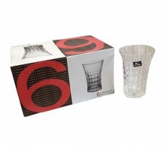 Set de 6 verre 88*91*67mm