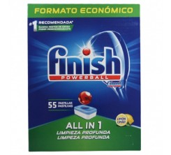 Finish Power ball 55 Pastillas Lemon