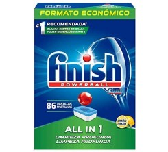 Finish Power Ball 86 Pastillas