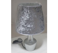 Lampe de Table 1xE27 gris 9-10