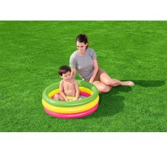 PISCINE GONFLABLE 3 BOUDINS 70 x 24 CM