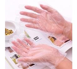 gants en plastique