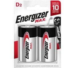 Piles Energizer D2 E95 Max (0140)