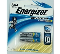 Piles Energizer Ad  X92 RP2 AAA-2