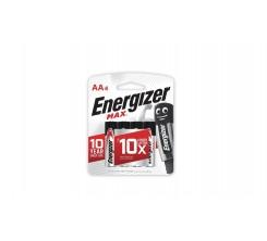 Piles Energizer Max E91 BP4 AA-4 (0126)