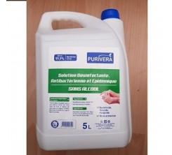 Solution désinfectante antibactérien épidermique sans alcool 5l