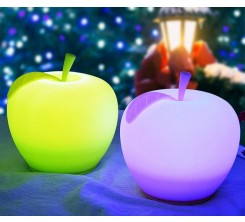 Veilleuse LED Pomme En Silicone