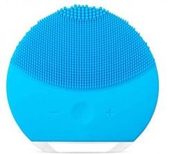 Éponge Nettoyante Visage Éléctrique Bleu