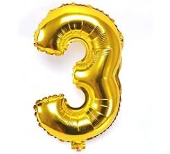 Ballon Gonflable Forme Chiffre 3