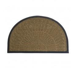 Tapis de Porte Antidérapant 50 x 80 Beige
