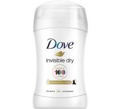 Déodorant Stick Dove Invisible Dry 40ml