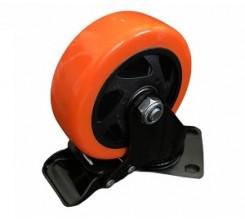 Roue Orange avec Frein YS 100