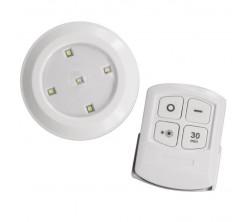 3 Lampes à LED Sans Fil avec Télécommande