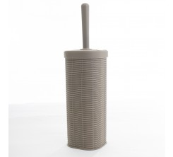 Brosse de Toilette Élégance en Plastique