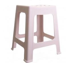 Chaise en Plastique Rose
