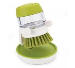 Brosse a Vaisselle avec Distributeur de Savon Liquide