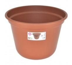 Pot de Fleur en Plastique Rond 25CM