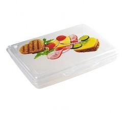 Boite Rangement Alimentaire  en Plastique Rectangulaire 1L