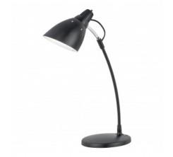 Lampe à Bureau TOP DESK Plastic Steel Black 1X60W