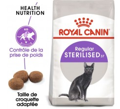 Croquettes Chat Sterilised 2kg