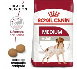 Croquettes Chien Medium Adult 15 kg