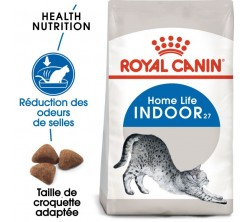 Croquettes Chat Indoor 2 kg